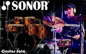 Carlos Sola usa Sonor